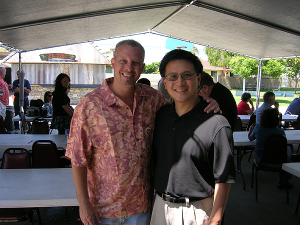 Kevin Carr with CA CFO John Chaing
